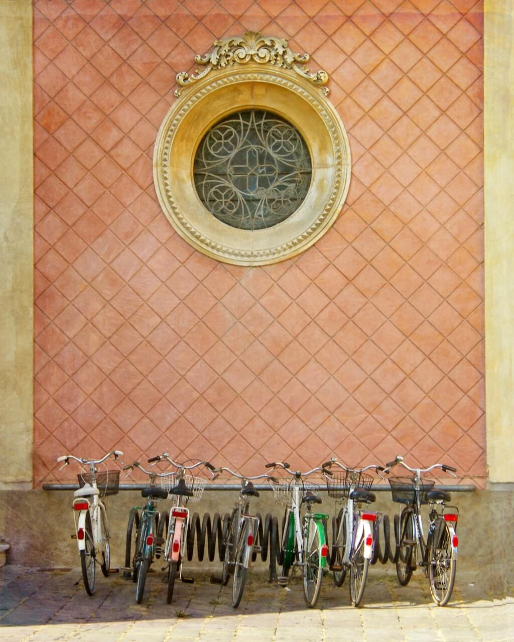 Nancy Koch - Bicycle Parking in Treviso Italy