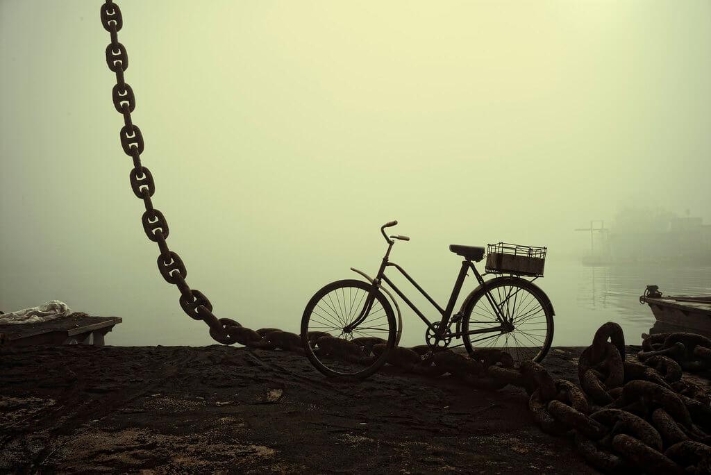 Iordanis Keramidas - bicycle with mist