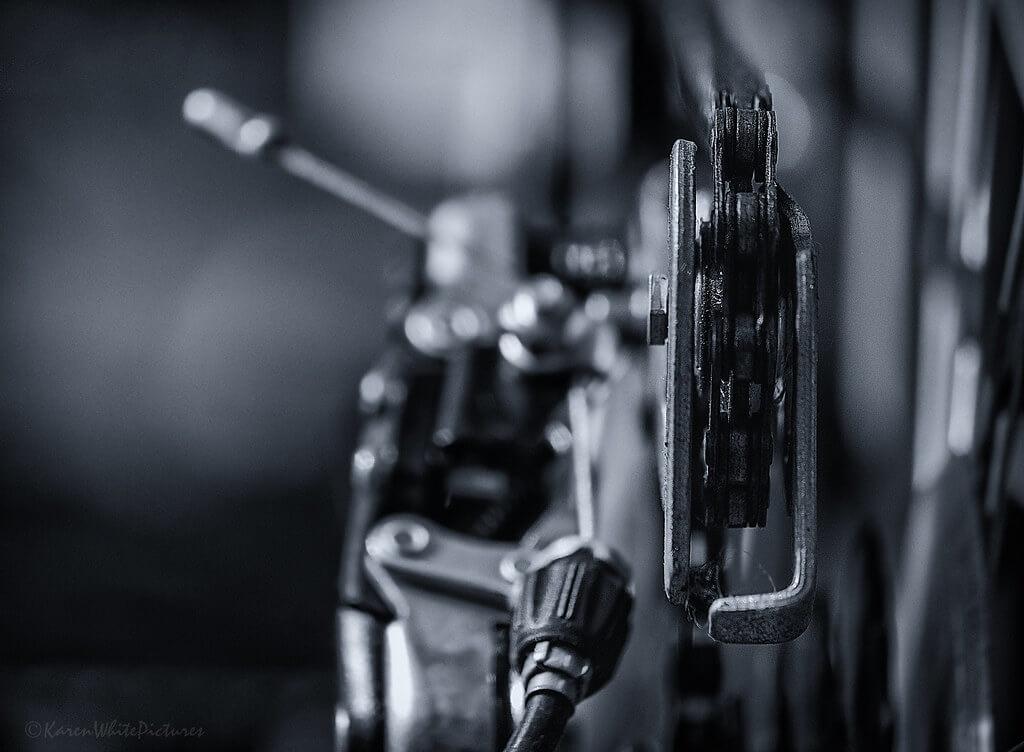 Karen White - bicycle close up