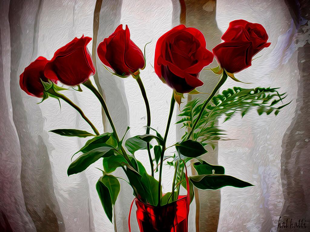 Hal Halli - five roses