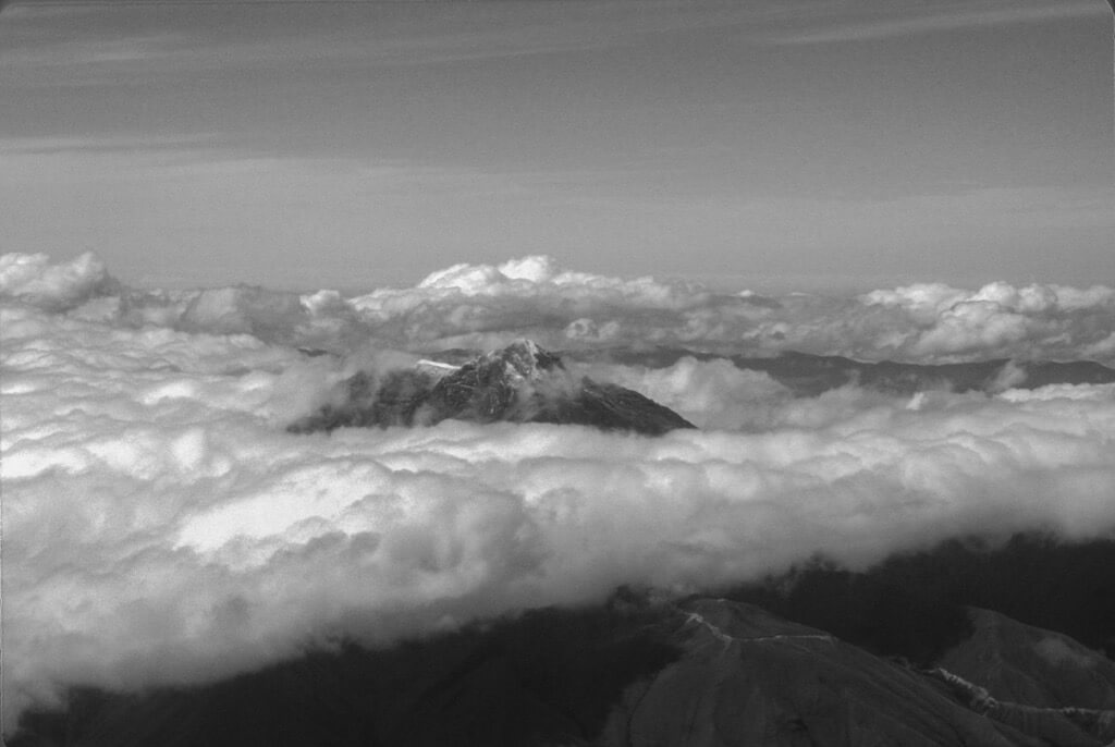 Tim Keane - Andes over Quito