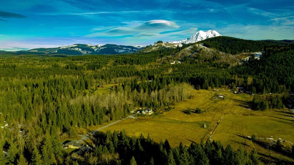 Odd Friis - Mt. Rainier, photographed near Eatonville, WA