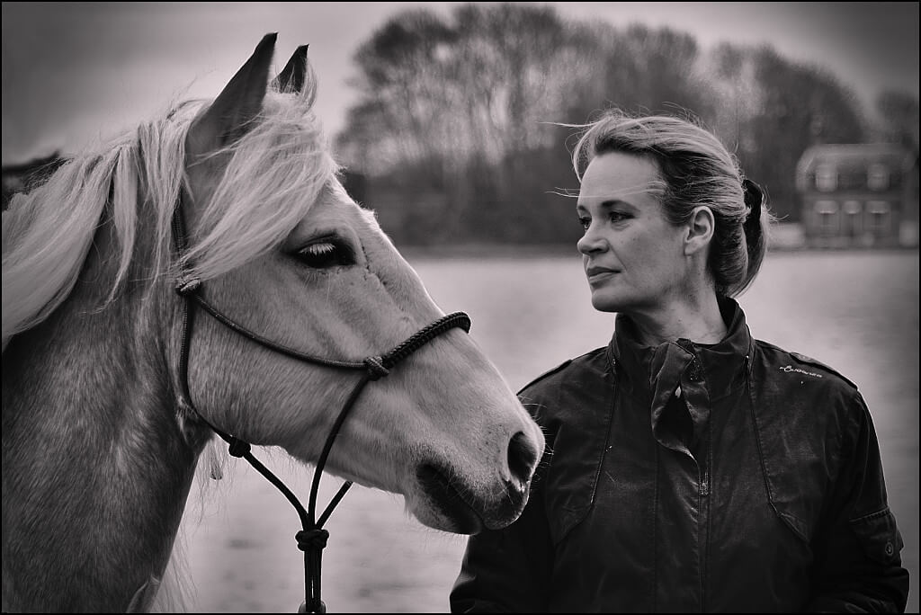 Stefan Schmitz - Tempo (our Haflinger) and Katrin