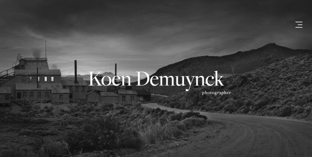 Koen Demuynck Website