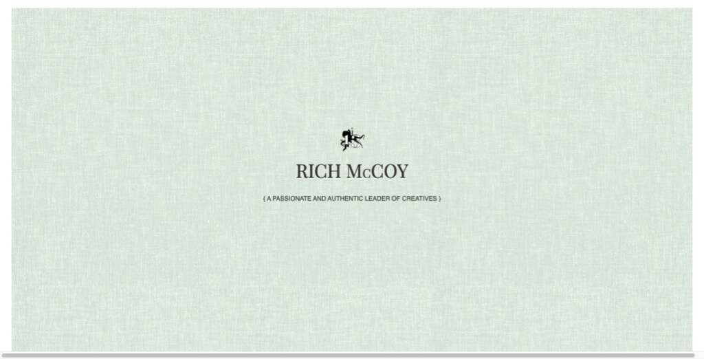 Rich McCoy Website