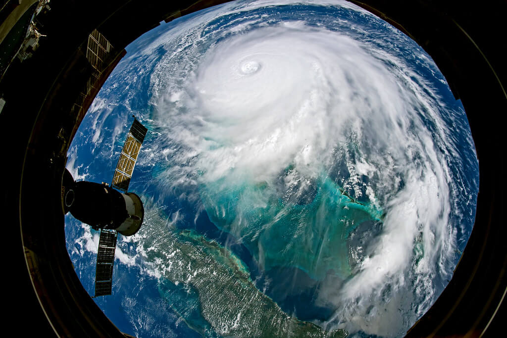 Hurricane Dorian Seen From Aboard the Space Station