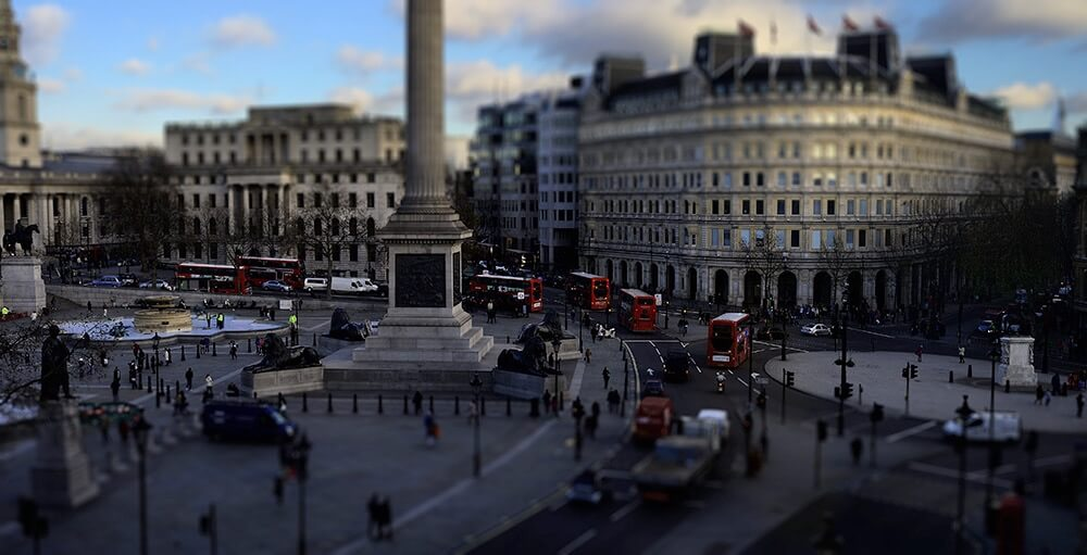 Paul Ransome - Trafalgar Square