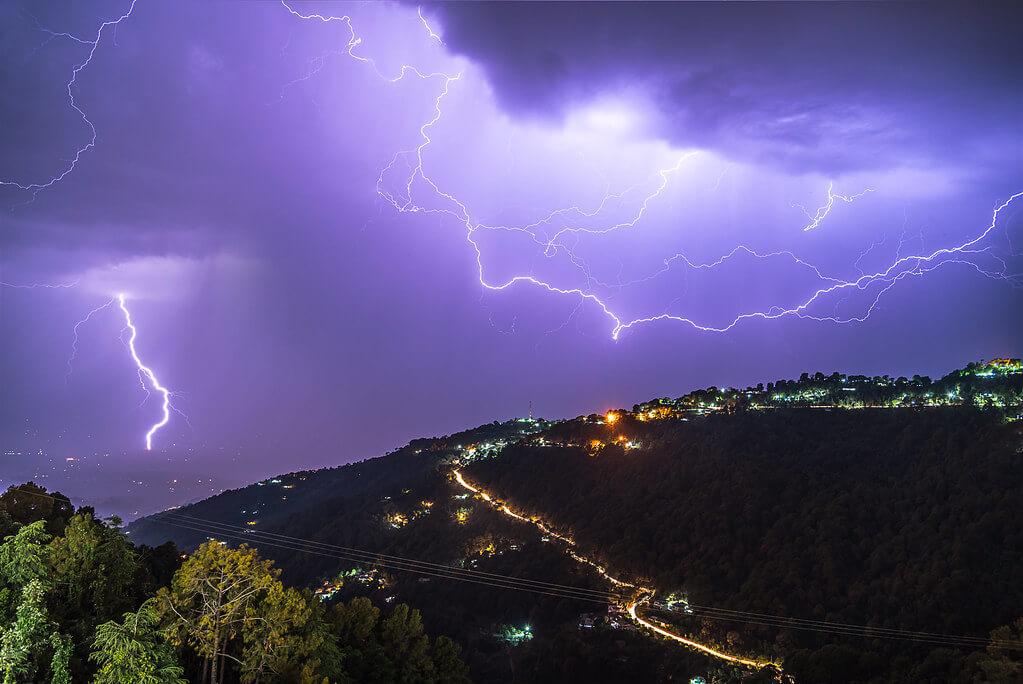 Sourabh Gandhi - Lightning storm