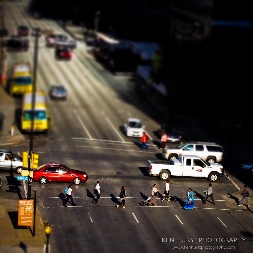 Ken Hurst - Tiny People Crossing The Street