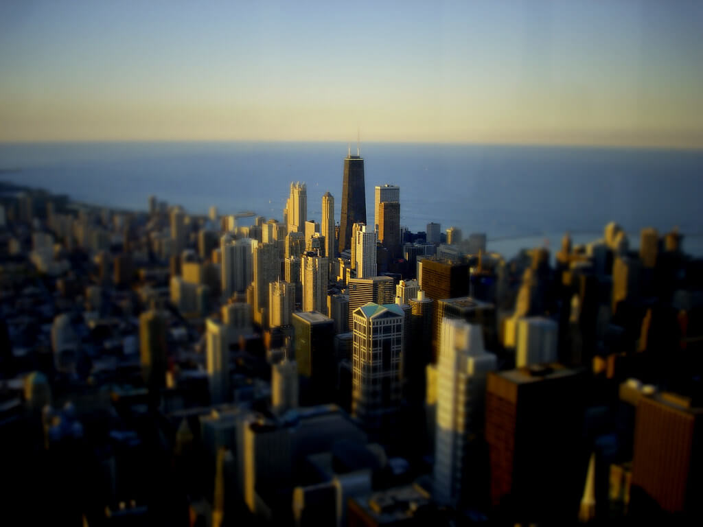 Spencer D Hughes - Chicago skyline
