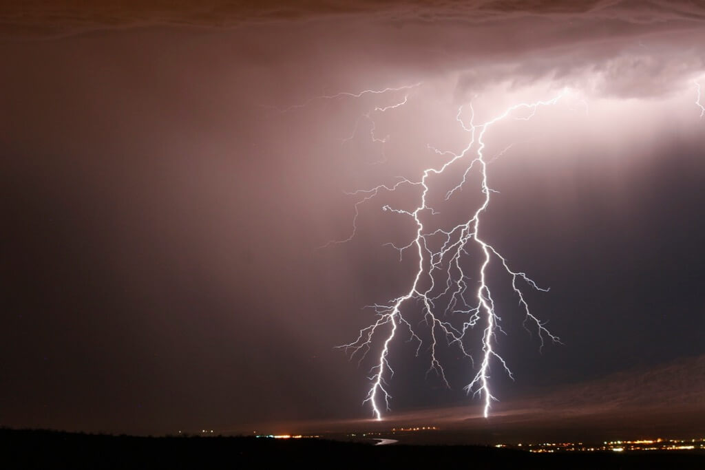 Scott Miller - Lightning in Laughlin, Nevada