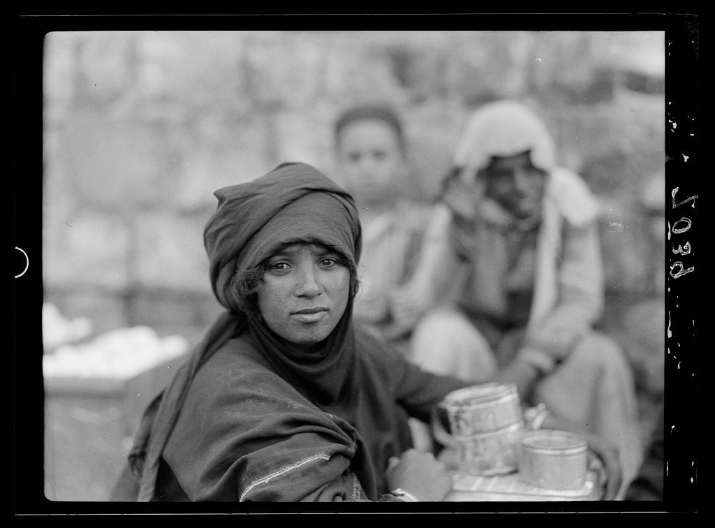 Bedouin girl in Tiberias