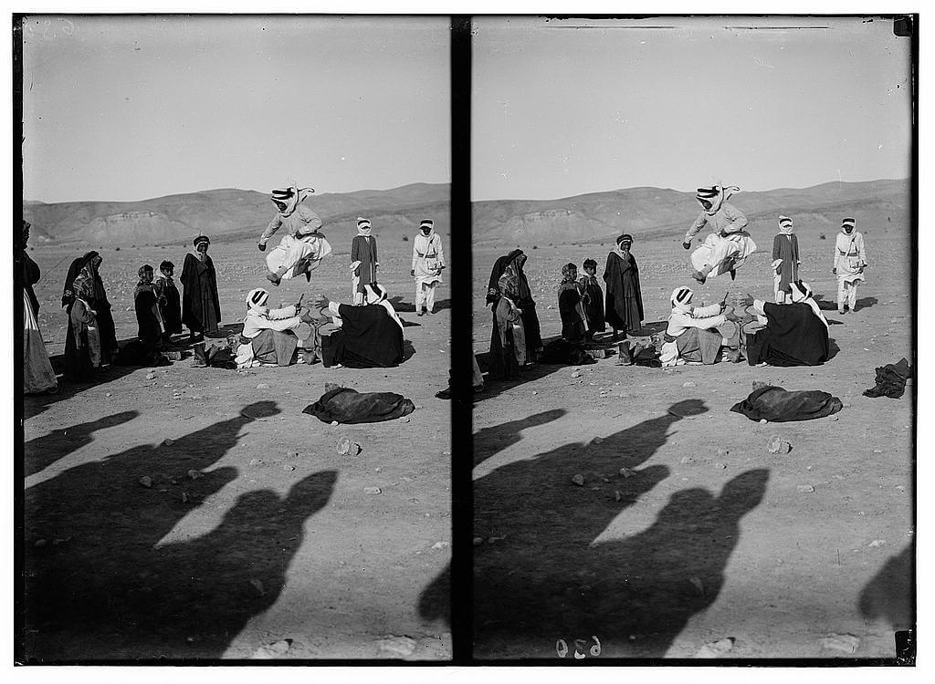 Bedouin wedding series - Jumping competition