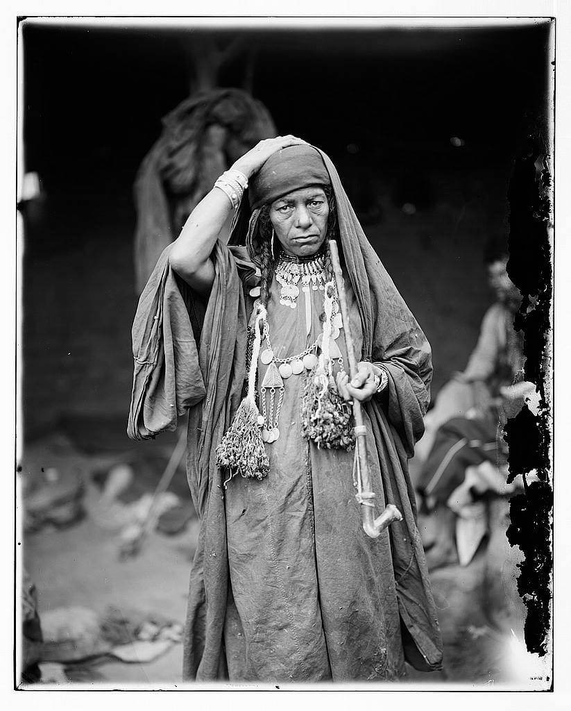 Old Bedouin woman