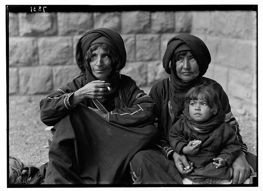 Bedouin women at the clinic