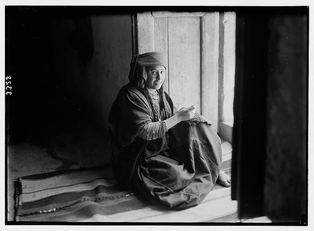 Christian Bedouin girl of Es-Salt
