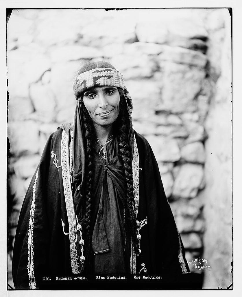 bedouin woman portrait