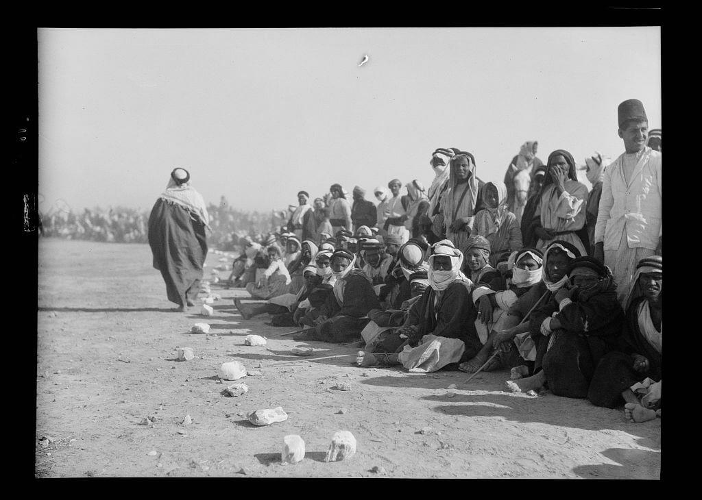 Bedouins racing and feasting at Beersheba