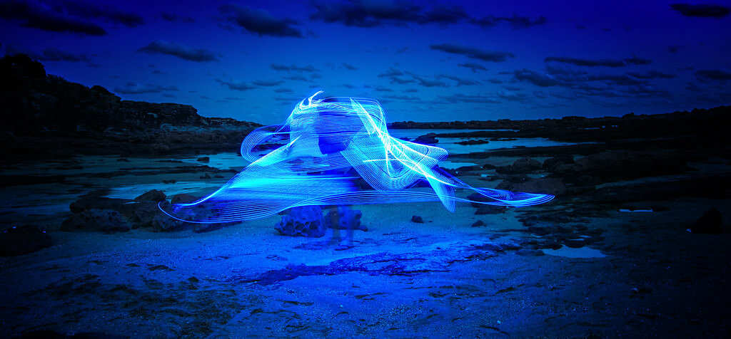 Colleen Galvin - Light Painting