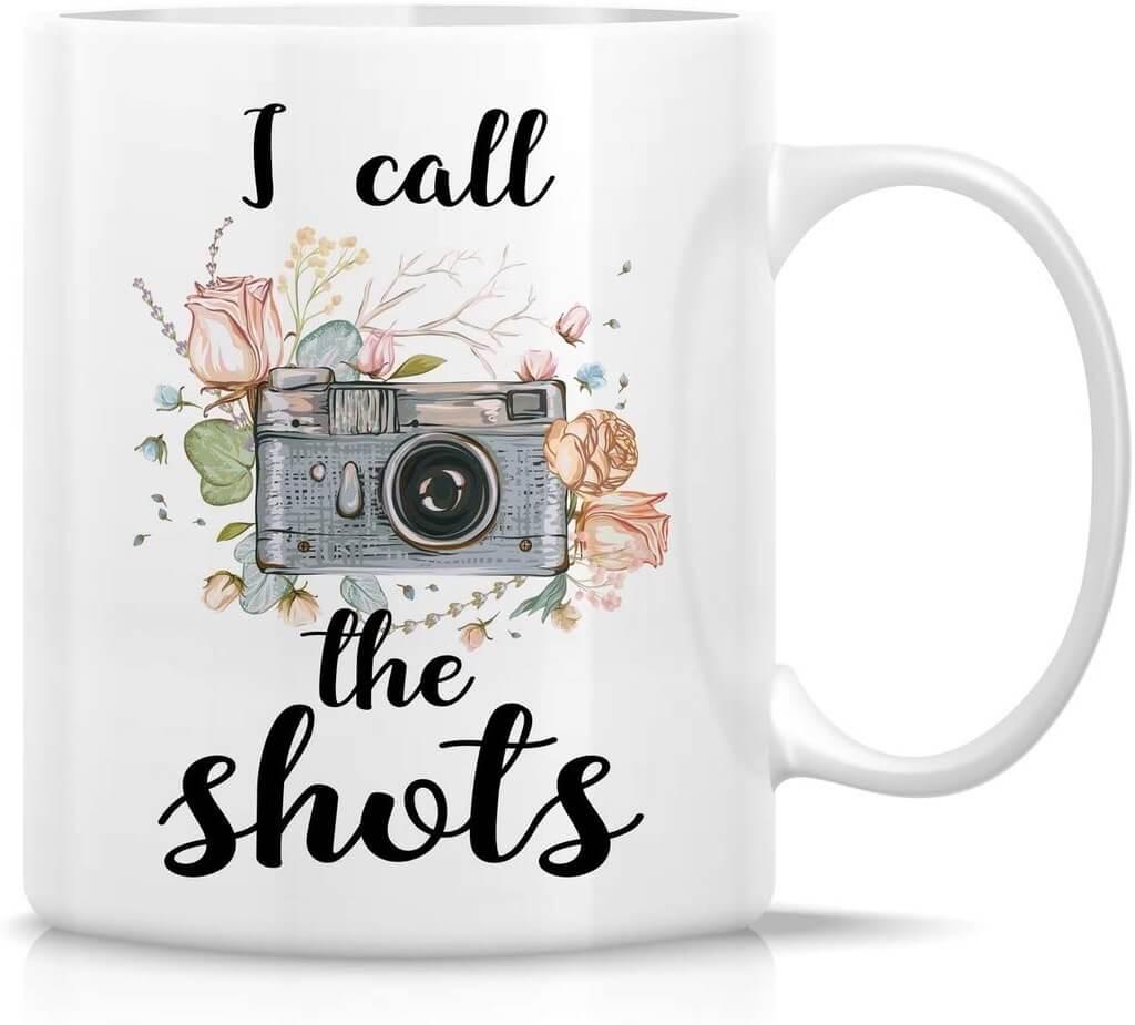 I call the shots mug