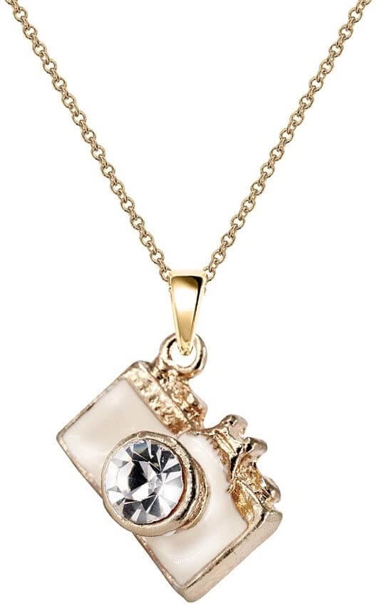Monnel Camera Pendant Necklace