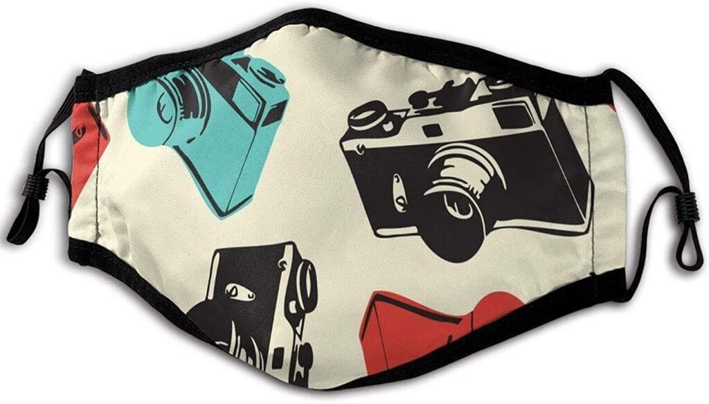 camera face mask
