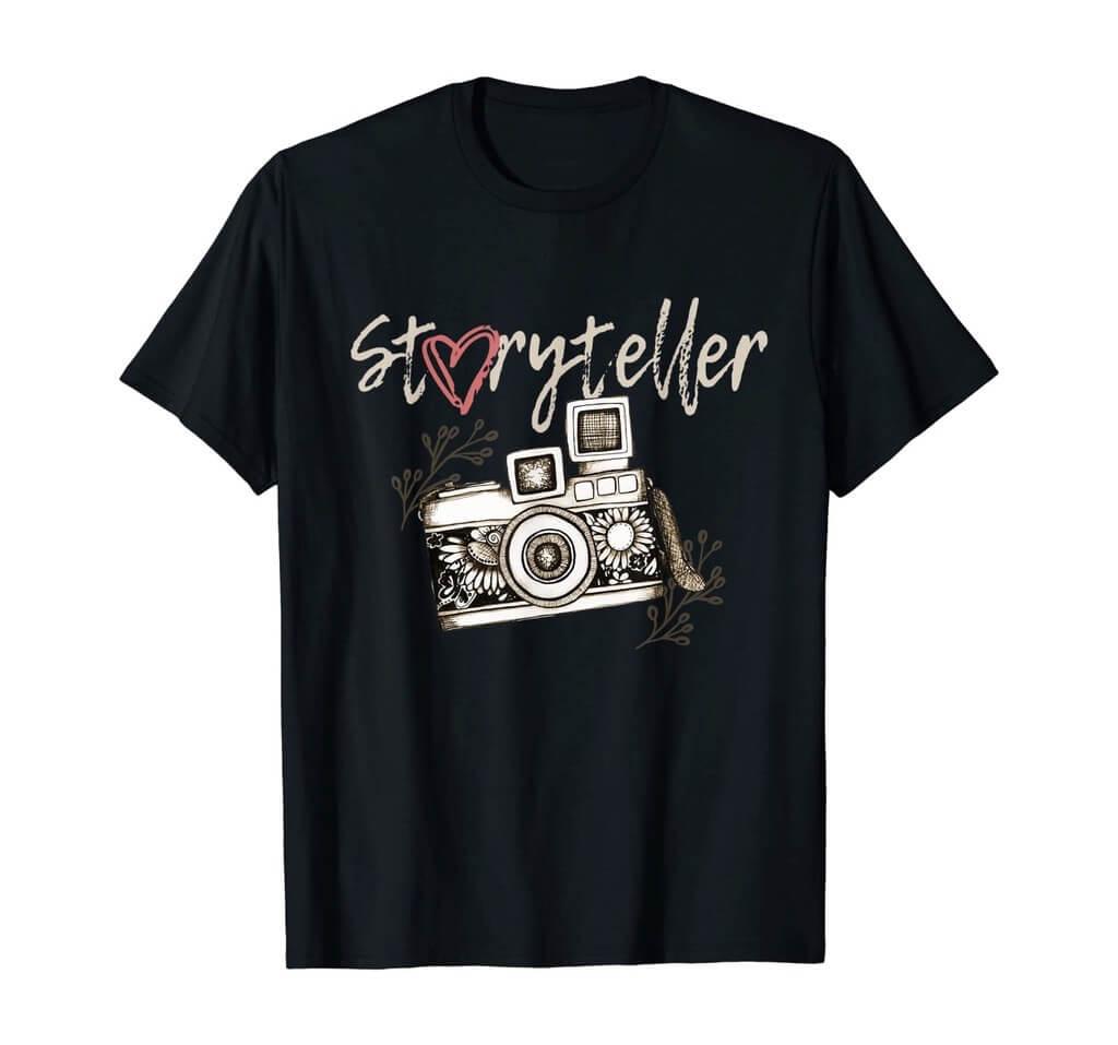 Storyteller Camera Shirt