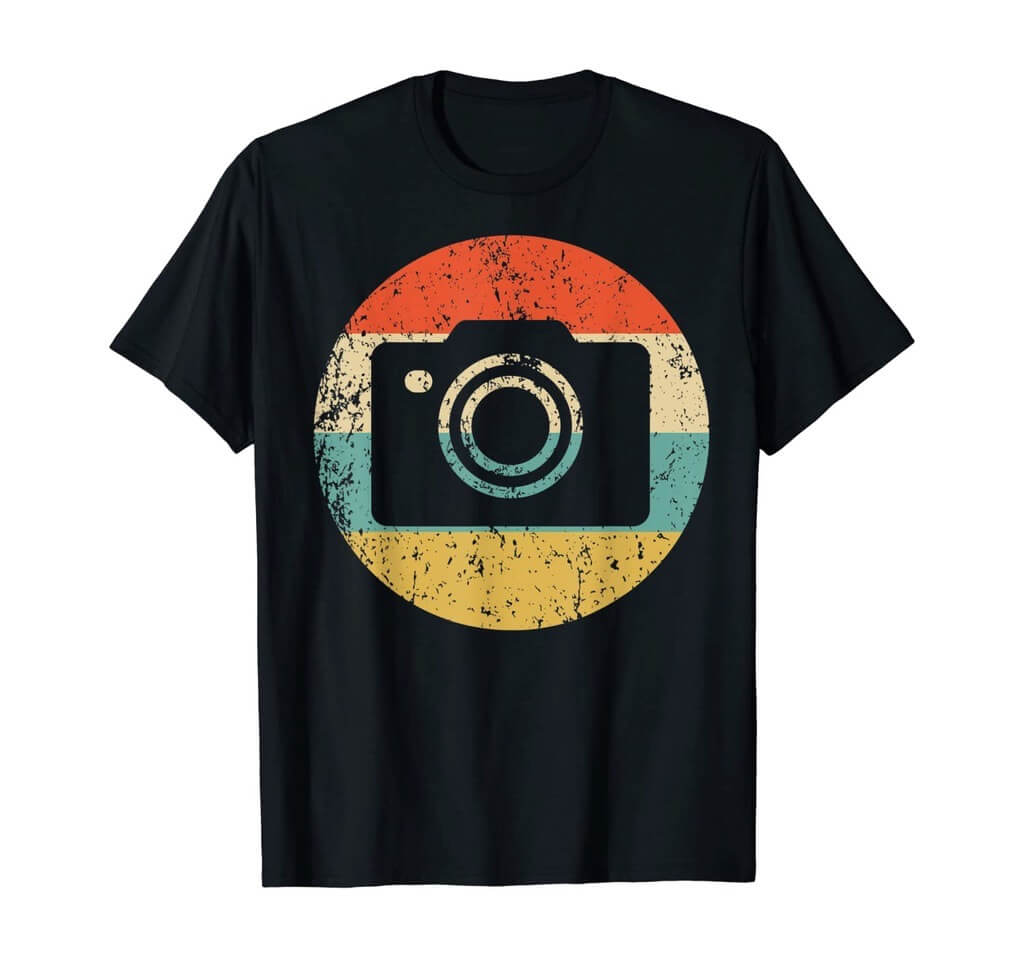 vintage camera shirt