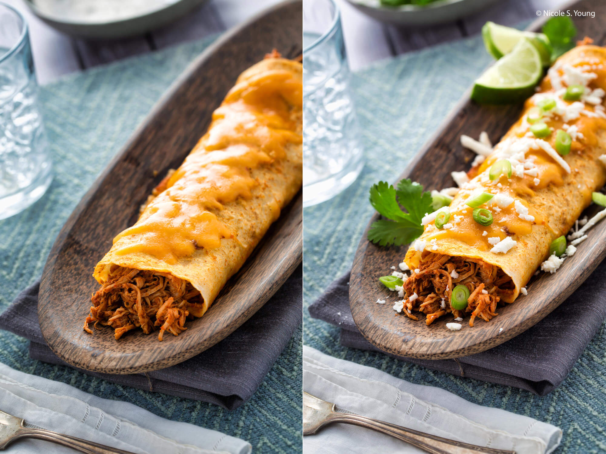 food photography tips for tasty enchiladas