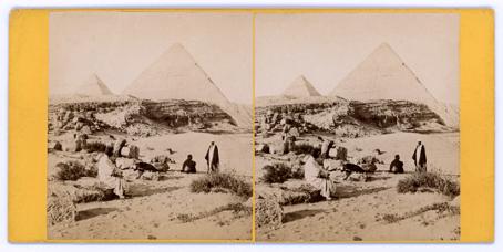 stereoscopy-pyramids-of-cheops-and-chephren