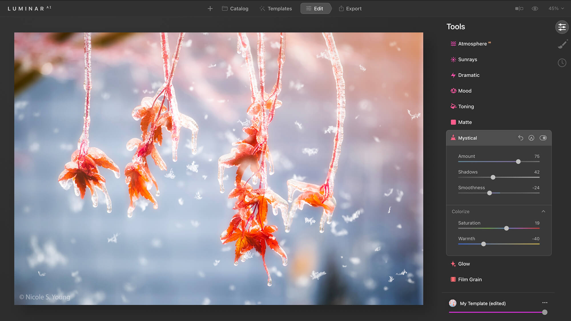 Final touches for creative photo editing tips