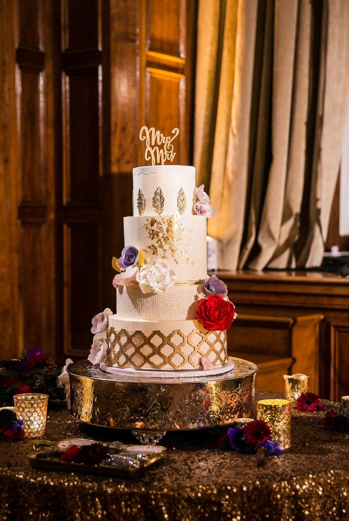 OCF on wedding cake